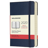 Moleskine Daily Pocket Planner/Notebook, 3 1/2