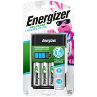 Chargeur 1heure Energizer Recharge avec 4piles AA NiMH rechargeables (CH1HRWB-4)