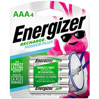 Piles rechargeables NiMH Energizer AAA
