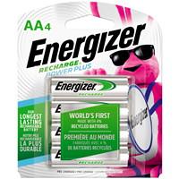 Piles rechargeables AA NiMH Energizer Recharge Power Plus, emb. de 4 (NH15BP4)