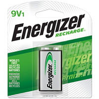 Energizer 9V NiMH Rechargeable Battery, 1/PK (NH22BP)
