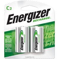 Piles rechargeables au NiMH Energizer C