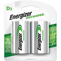 Piles rechargeables D NiMH Energizer, emb. de 2 (NH50BP-2)