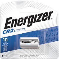 Energizer CR2 Lithium Battery, 1/PK