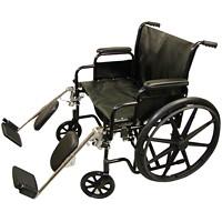 Fauteuil roulant bariatrique avec cadre pliant en acier BIOS Living, 24po