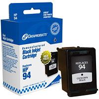 Cartouche d'encre à rendement standard Dataproducts compatible avec HP 94 (C8765WN), noir
