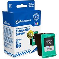 Cartouche d'encre à rendement standard Dataproducts compatible avec HP 95 (C8766WN), tricolore
