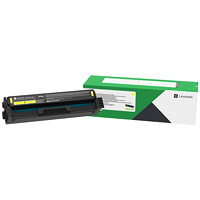 Lexmark C331HY0 Yellow High Yield Return Program Toner Cartridge