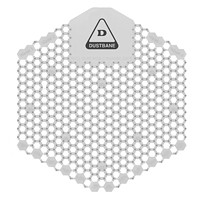 Tamis d'urinoir désodorisant avec technologie enzymatique 3DShield Dustbane, non parfumé, caisse de 10