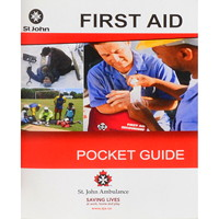 St. John Ambulance Bilingual First Aid and Emergency Care Pocket Guide, 68 Pages