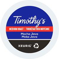 Dosettes K-Cup de café Timothy's, Moka Java, boîte de 24