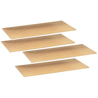 Safco Archival Warp-Free Particle Board Shelves, 69
