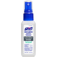 Purell Professional Multi-Surface Sanitizer and Disinfectant, 59 mL Spray Bottle
