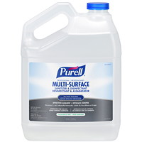 Purell Professional Multi-Surface Sanitizer and Disinfectant, 3.78 L Refill
