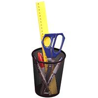 Porte-crayon durable en mailles métalliques Rolodex, noir