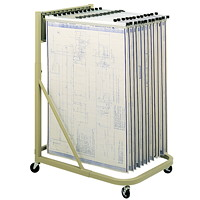 Safco Pivot Vertical File Mobile Stand