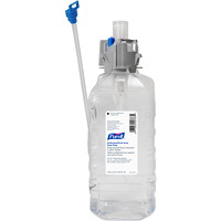 Recharges de savon moussant pour les mains à usage professionnel CX Purell, parfum frais, 1,5l, caisse de 4