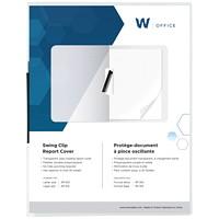 Protège-document à pince rotative Winnable, transparent, format lettre