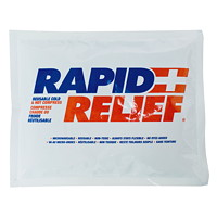 Rapid Relief Reusable Cold/Hot Gel, 6 3/4