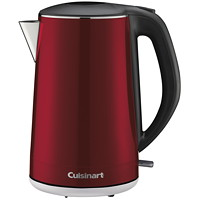 Cuisinart Cordless Kettle, Red, 1.5 L