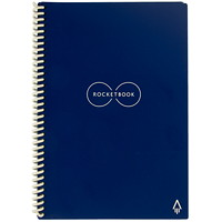 RocketBook Everlast Executive Notebook, Blue, 6