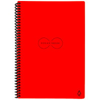 RocketBook Everlast Executive Notebook, Red, 6