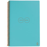 RocketBook Everlast Executive Notebook, Teal, 6