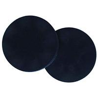 Tampons d'interface Bona SuperCourt Diversey, noir, 6po x 1/2po, caisse de 6