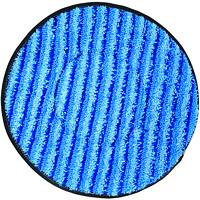 Tampons de nettoyage en microfibre pour autorécureuse SuperCourt Diversey, bleu, 13po, caisse de 6