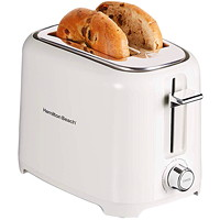 Hamilton Beach 2-Slice Toaster, White