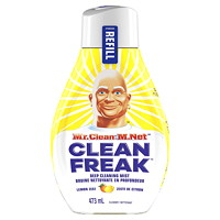 Mr. Clean Clean Freak Deep Cleaning Mist Multi-Surface Cleaner Refill, Lemon Zest Scent, 473 mL