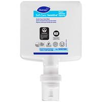 Recharges de savon moussant doux pour les mains Soft Care Diversey, non parfumé, 1,3l, caisse de 6