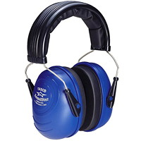 TASCO 2550 Sound Star Over-the-Head Earmuffs, NRR=25, Blue