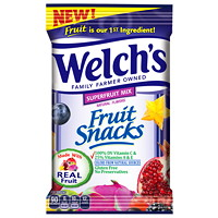 WELCH'S AUX SUPERFRUITS 48X60G