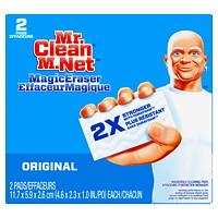 Mr. Clean Original Magic Eraser Cleaning Pads, 2/PK
