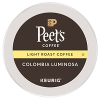 Peet's Coffee K-Cup Pods, Single-Serve, Colombia, 76/CT
