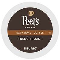 Peet's Coffee K-Cup Pods, Single-Serve, French Roast, 76/CT