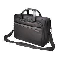 Kensington Contour 2.0 Laptop Briefcase, Black, Fits Laptops up to 17