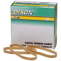 Bandes élastiques radiales Star Dixon, taille nº64, boîte de 1/4lb