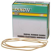 DIXON #6TH RUBBER BANDS 1/4 LB