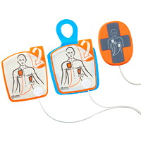 Électrodes iCPR pour adultes pour défibrillateur externe automatisé (DEA) Powerheart G5 Cardiac Science