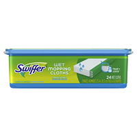 Swiffer Sweeper Wet Mopping Cloth Refills, Open-Window Fresh Scented, 24/PK