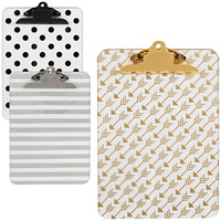 Merangue Fashion Clipboard, Assorted Fashion Designs, Letter Size (No Design Choice on Delivered Orders)