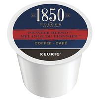 Dosettes K-Cup de café 1850 Folgers, Mélange du pionnier, boîte de 24