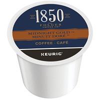 Dosettes K-Cup de café 1850 Folgers, Minuit doré, boîte de 24