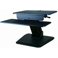 TygerClaw Sit-Stand Workstations, Black