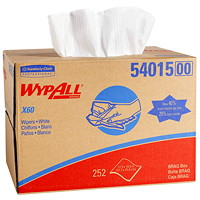 WypAll X60 Wipers, BRAG Box, 252 Wipers, White
