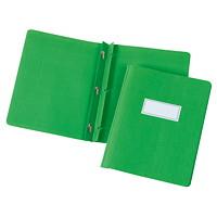 Couvertures de présentation avec bordure et rubrique gaufrées Grand & Toy, vert forêt, format lettre, emb. de 5