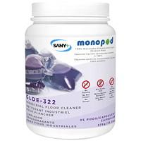 Nettoyant industriel pour planchers MonoPOD Sany+, emb. de 25capsules