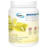 Nettoyant neutre pour planchers MonoPOD Sany+, emb. de 25capsules